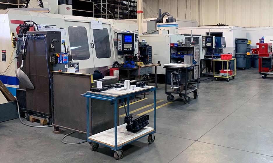 TA Systems CNC Machining Fabrication Paint Applications