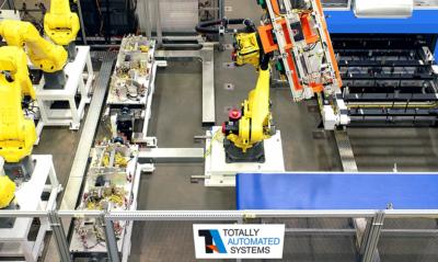 TA Systems Press Side Load & Unload