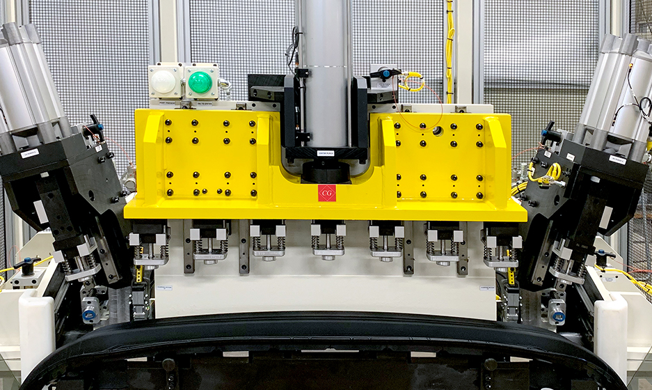 TA Systems Material Handling Stand Alone Punch Application