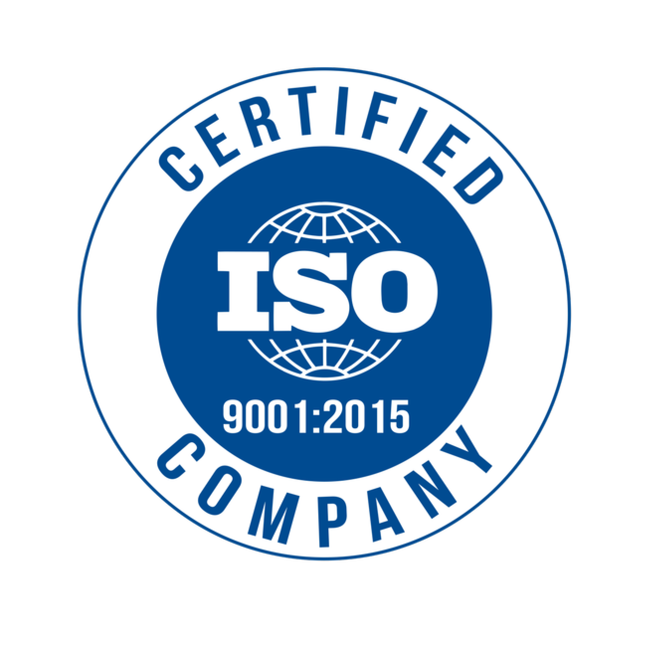 ISO 9001:2015 Certification Logo