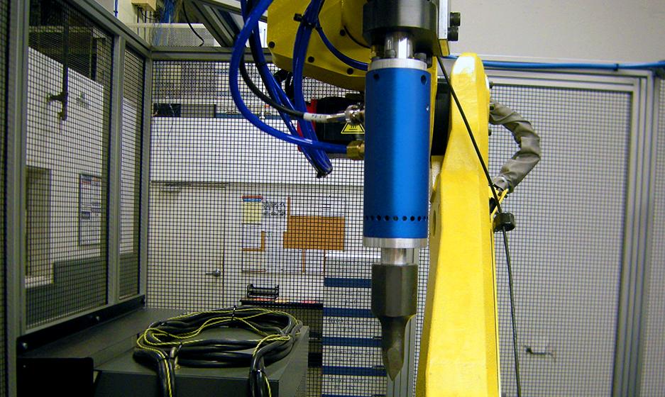 TA Systems Robotic Sonic Trim Tool Closeup