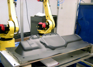 TA Systems Robotic Material Sonic Trim Photo