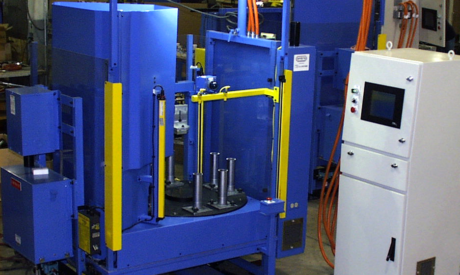 TA Systems Spin Welding Custom Engineering