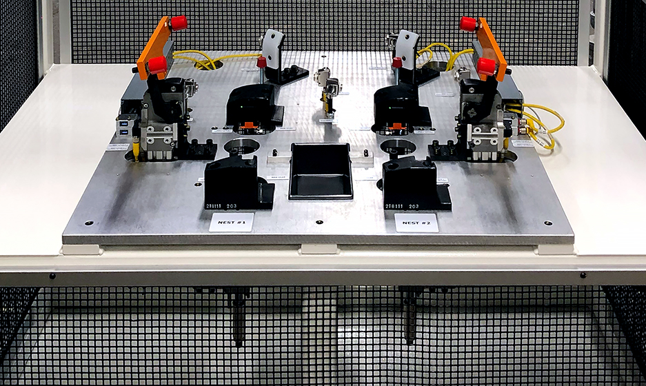 Fixed Dedicated Automated Assembly Systems Clip Machine Photo